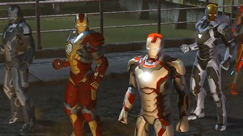 cgr trailers marvel heroes iron man special suits