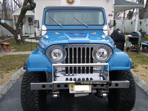 Jeep Scrambler 2012 1983 Jeep Scrambler Custom 2 Door 360 V 8