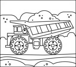 truck coloring page printables apps for kids