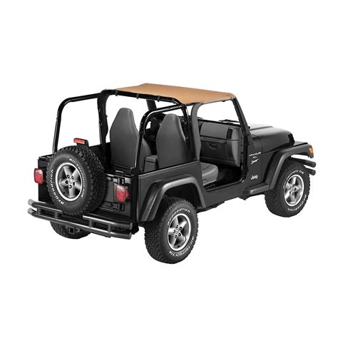 Top For Jeep Tj Bestop Strapless Tops For 97 02 Jeep Wrangler Tj In