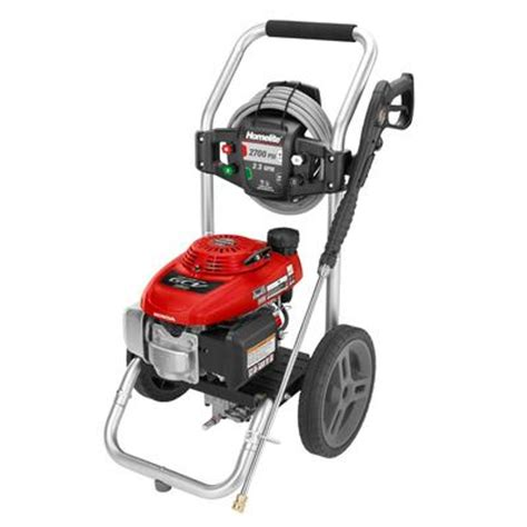 homelite 2700 psi gas pressure washer home depot canada