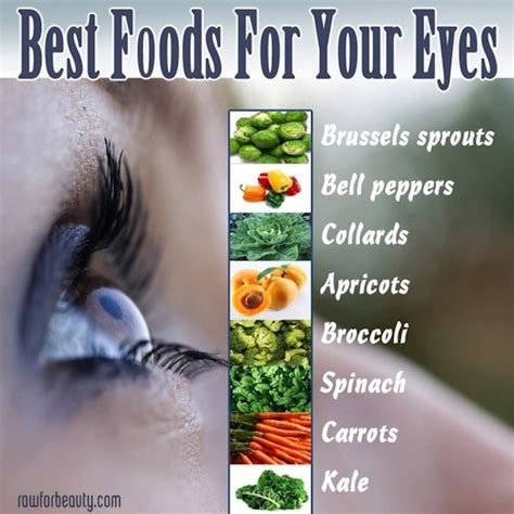 foods for better eyesight get better eye health with superfoods nutrient rich