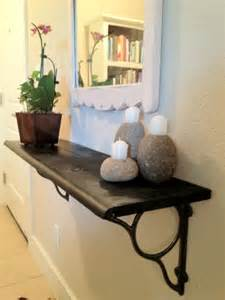 small foyer diy floating shelf in small foyer cozy bliss