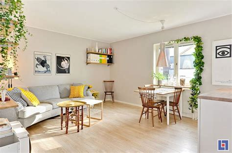 charming swedish style apartment in cappuccino color tiny studio apartment with swedish charm