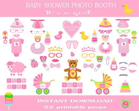 free printables for baby shower photo booth printable baby shower photo booth props photo booth sign