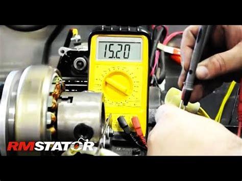 alternator diode stator rotor tester testing three phase alternator stator regulator rectifier charging system