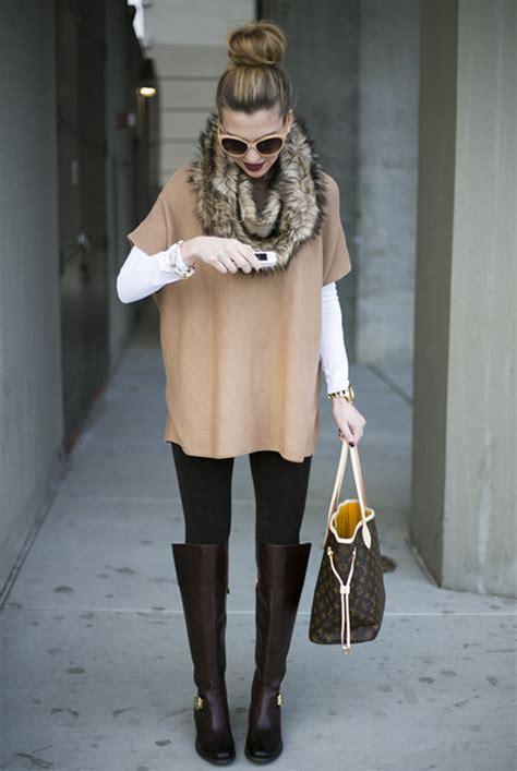 6 stylish ways to wear a fur scarf be daze live
