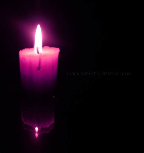 Purple Candles Purple Candle By Unickantart On Deviantart