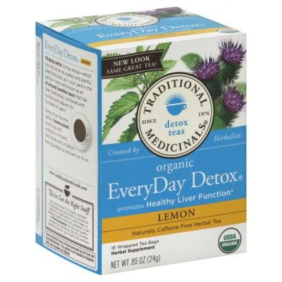 Everyday Detox Tea by Traditional Medicinals Detox Tea Organic Everyday Detox