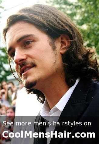 orlando bloom haircut orlando bloom s long layered curly hairstyle haircuts
