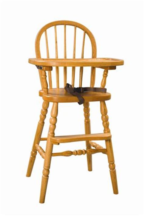 Amish Wooden High Chair by Plans To Build Amish Wood High Chair