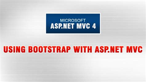 tutorial bootstrap asp net asp net mvc 4 tutorial in urdu using bootstrap with asp