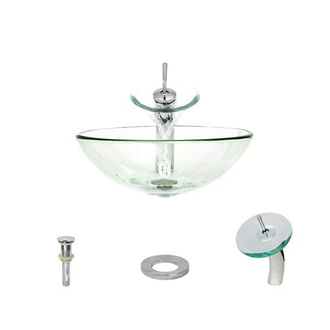 mr direct vessel sinks mr direct glass vessel in turquoise with 721 faucet