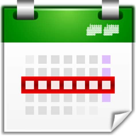 week photos actions view calendar week icon oxygen iconset oxygen team