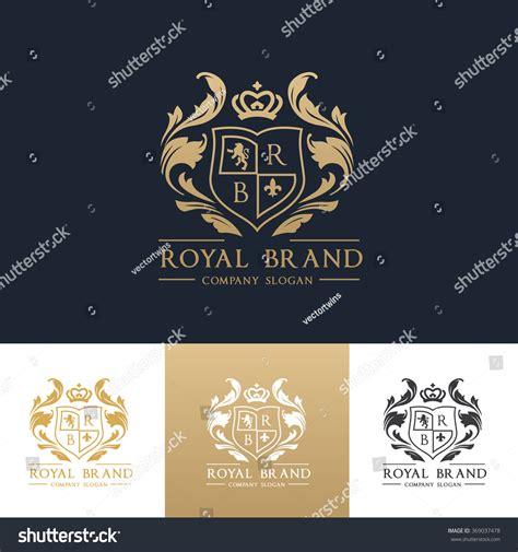 crest logo template royal brand logo crown logo logo crest logo vector