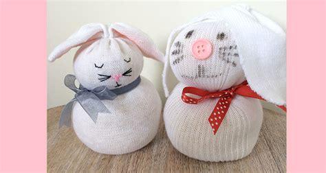 sock egg bunny sock bunnies an easter craft for my baba