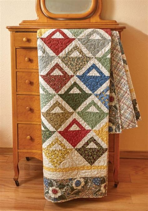 Quarter Quilting by Make A Lovely Basket Quilt From Quarters Quilting Digest