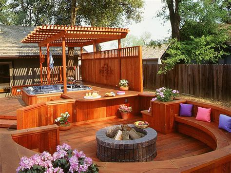 backyard deck designs with hot tub small deck ideas with hot tub home design ideas