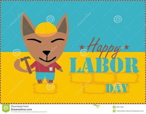 Happy Labor Day Weekend Vacation Time by Happy Labor Day Stock Illustration Image 53071506