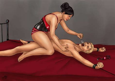 Femdom Tease Tickle Bondage Femdom Artists Femdom Art