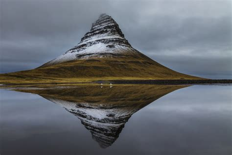 Home Kit by Kirkjufell And Whooper Swans Vesturland Iceland Art Wolfe