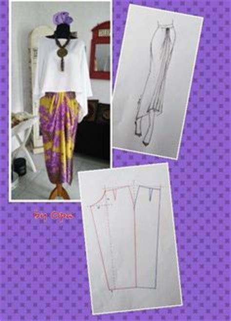 Dress Payung 3 tutorial menjahit kain duyung payung atau peplum sew addict skirt