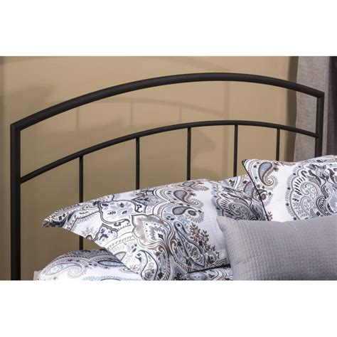 black headboard twin hillsdale julien twin spindle headboard in textured black