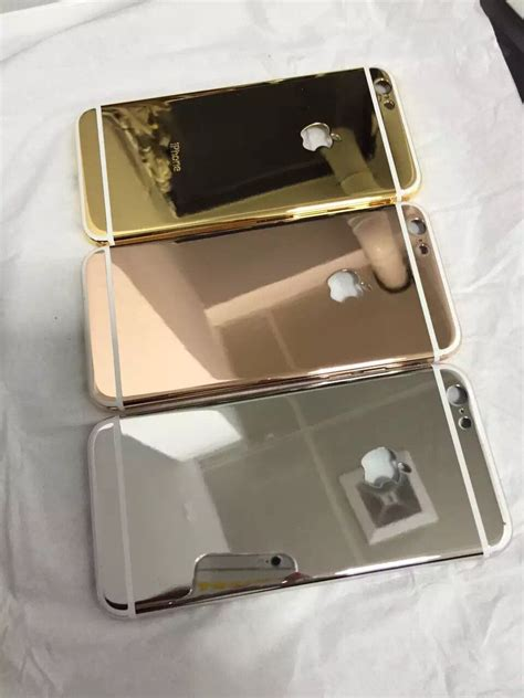 iphone 6s 6s plus 24kt gold shiny housing cover the best luxury phone customization factory