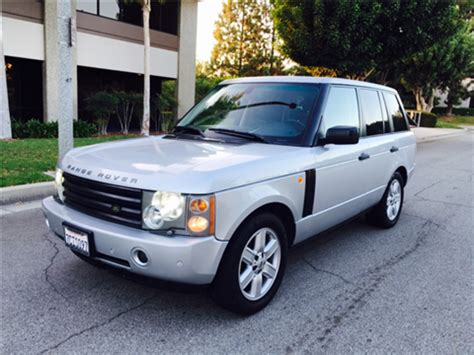 2005 land rover range rover for sale carsforsale