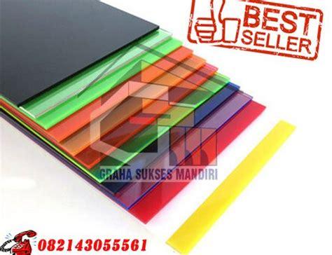 Kaca Acrylic Per Lembar acrylic mc banyuwangi jual murah harga pabrik dari graha
