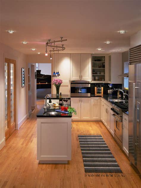stylish long narrow kitchen ideas godfather style