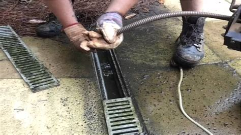 curtain drain cost save 1000 s french drain cleaning repair youtube