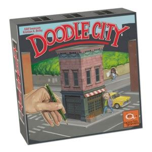 Asmodee Jeu Doodle by Doodle City Doodle City Un Jeu De Eilif Svensson Jeu De Soci 233 T 233 Tric Trac