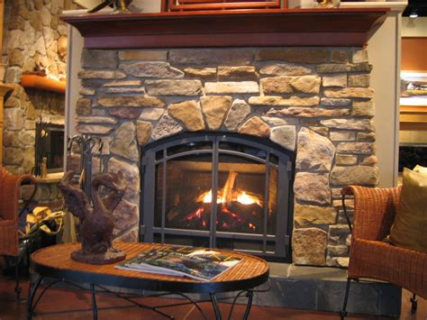 furniture contemporary gas fireplace for rustic