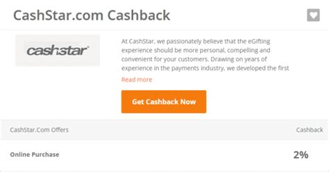 Cashstar Gift Card - new online gift card vendors with cash back opportunities chasing the points
