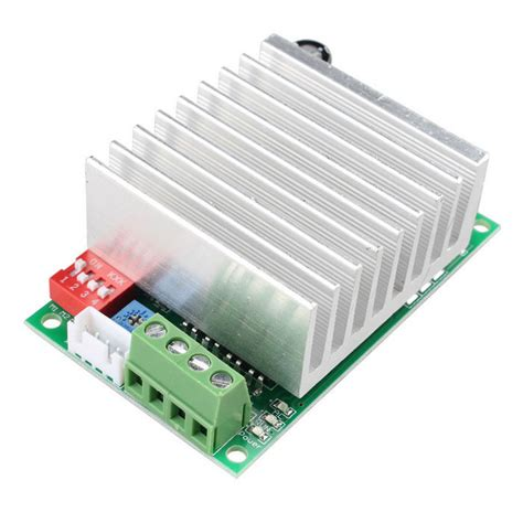 Driver Stepper Motor Bipolar Tb6600 tb6600 4 5a cnc single axis stepper motor driver board controller free shipping dealextreme