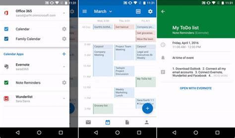 outlook calendar android outlook for ios and android gets new calendar integrations pcworld