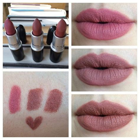 She Matte Lipstick Lasting 24h Like Mac mac matte lipsticks in mehr whirl center and persistence i used whirl liner around the