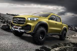 Mercedes Truck And Mercedes X Class Truck Concept Unveiled