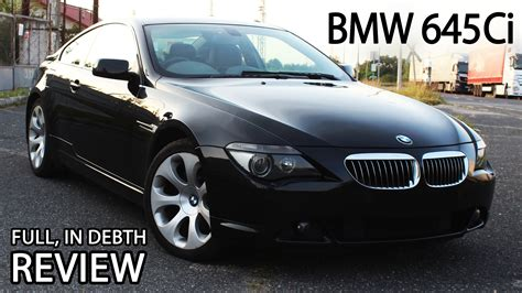 2004 bmw 645ci e63 m sport package in depth review