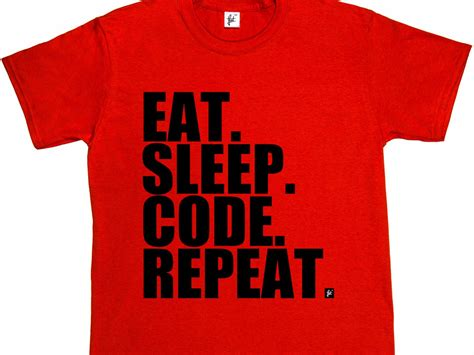 Programmer T Shirt why one programmer hates the popular eat sleep code