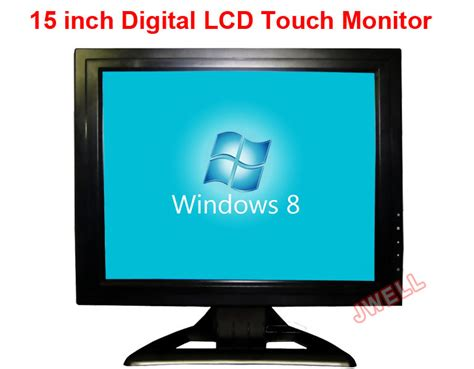 Monitor Lcd Bekas 15 Inch 15 inch touch screen lcd monitor with vga port j well industrial co ltd