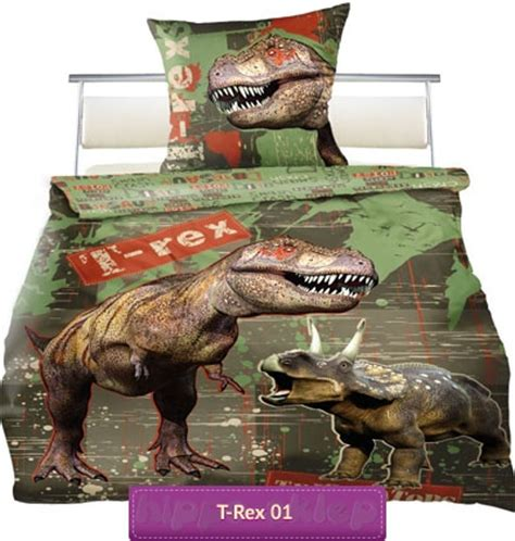 T Rex Bed by Bed Linen T Rex Tyrannosaurus Children Bedding
