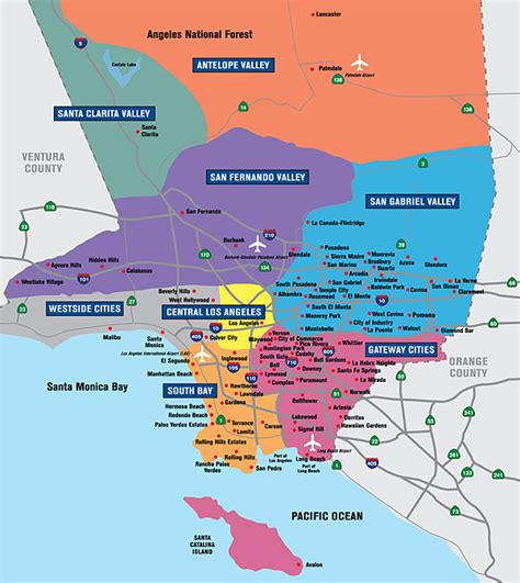 central district of california map reading and analyzing space steven flusty s building
