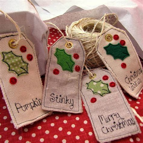 Fabric Tags For Handmade Gifts - the 25 best ideas about gift bags on