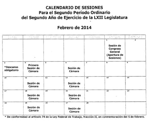 Calendario De Comparecencias Camara De Diputados 2014 Gaceta Parlamentaria A 241 O Xvii N 250 Mero 3956 I Jueves 6 De