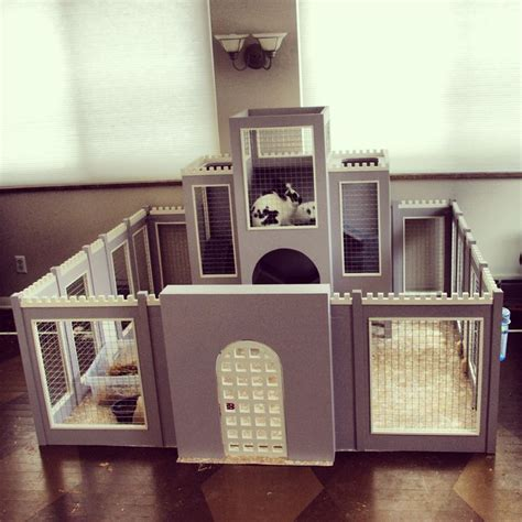 bunny castle bunny hutch rabbit housing