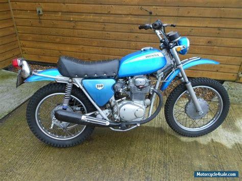 Honda Sl350 by 1970 Honda Sl350 K0 Motorsport For Sale In United Kingdom