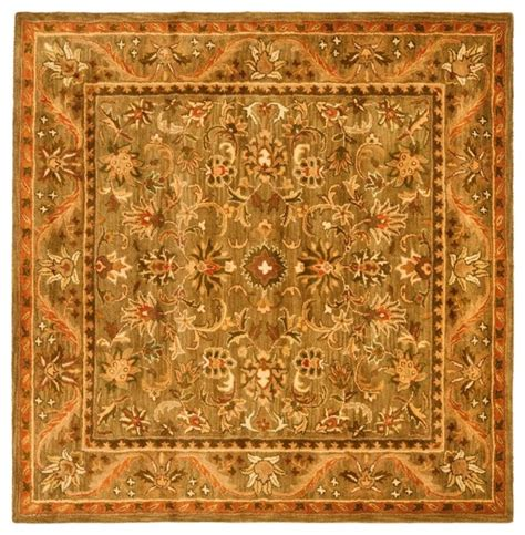 10 6 Square Rug - traditional antiquities square 6 square gold area
