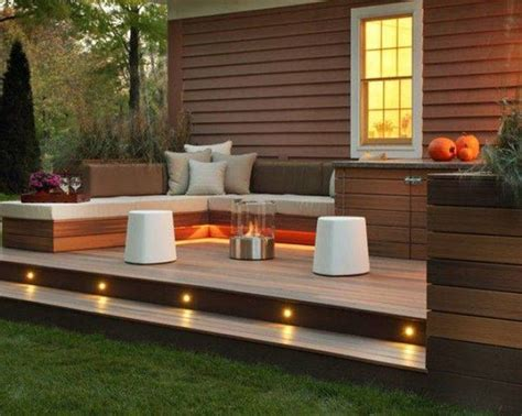Small Backyard Deck Ideas by Best 25 Low Deck Designs Ideas On Low Deck